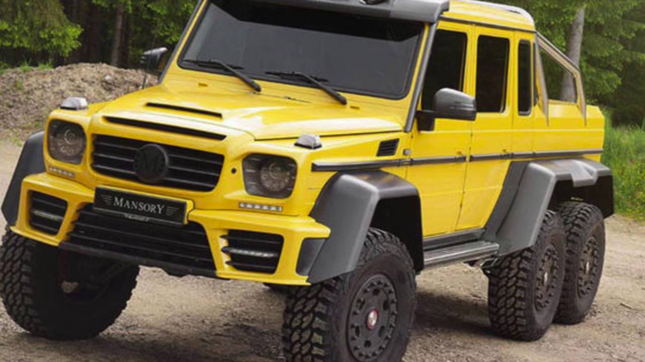 Mercedes-Benz G 63 AMG,BRABUS & MANSORY 6x6 for sale - YouTube