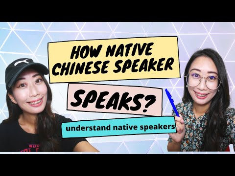 How to understand fast Chinese-how to understand Chinese native speakers-Chinese pronunciation