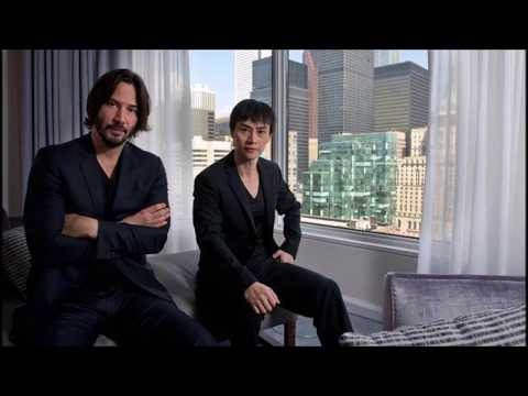Tiger Chen Hu and Keanu Reeves