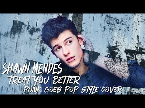 Shawn Mendes - Treat You Better [Band: Actions Speak Louder] (Punk Goes Pop Style Cover)