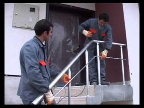 Montagem filmes sistemas e acessorios de aluminio para for Celosias de aluminio para jardin