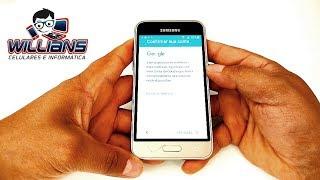 Desbloqueio de Conta Google  Samsung Galaxy J1 2016 SM-J120, J120H, J120M, Desbloquear, Restaurar