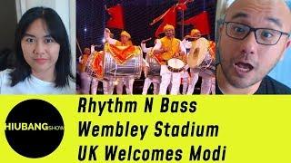 Indonesians React To Rhythm N Bass - Wembley Stadium - UK Welcomes Modi