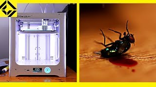 3D Printer Makes Fly Murder Machine
