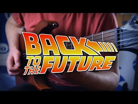 Back to the Future Theme on Guitar
