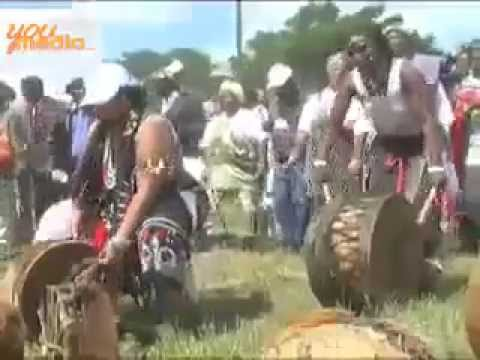 Traditional healer's Cleansing rituals of traditional healers, South Africa.flv