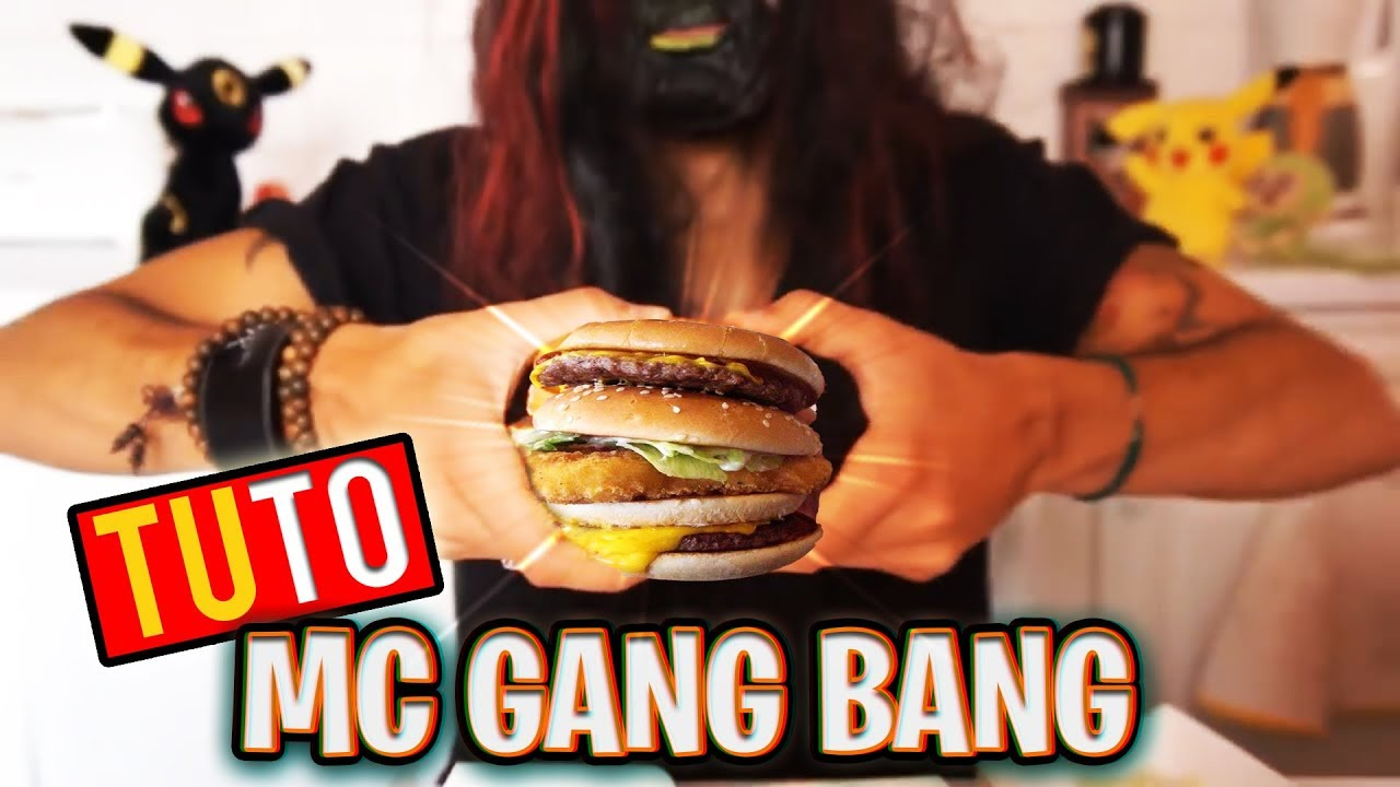 Consider, that gang bang sandwich phrase