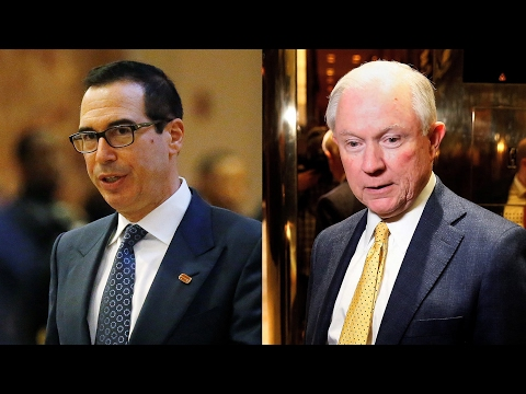 "Rep. Maxine Waters Urges Rejection of ""Foreclosure King"" Mnuchin for Treasury & Sessions for AG"