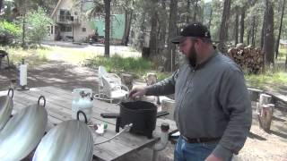 About Disc Grill - Demonstration And Disc Size Options