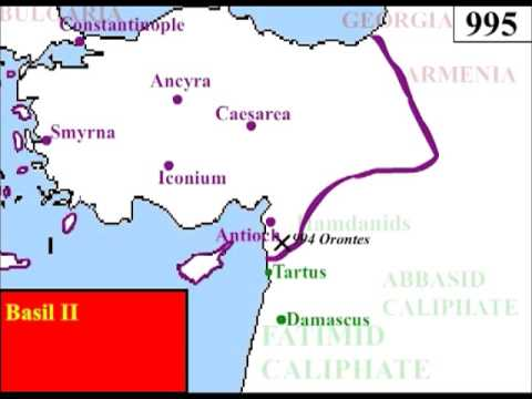 Byzantium in the Near East, 590-1460
