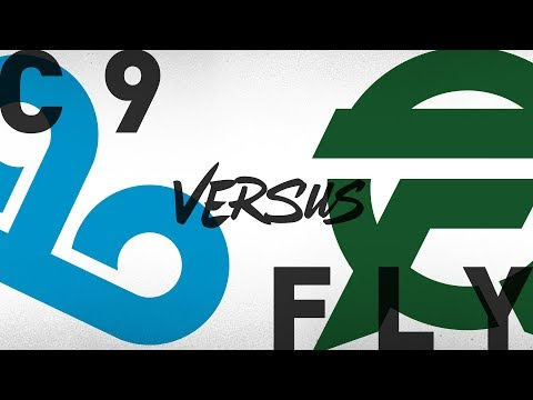 C9 vs. FLY - Week 4 Day 1 | NA LCS Summer Split | Cloud9 vs. FlyQuest (2018)