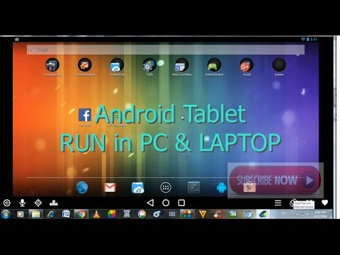 Install Android Tablet in PC , Laptop free version l Best Android Emulator  for PC