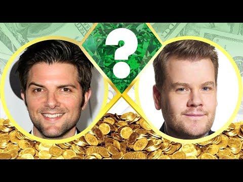 WHO'S RICHER? - Adam Scott or James Corden? - Net Worth Revealed! (2017)