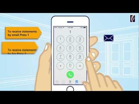 How to enroll for Emirates NBD e-statements through Phone Banking طلب كشف حساب إلكتروني عبر الهاتف