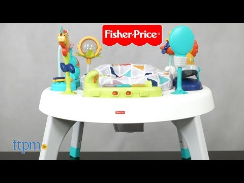 2-In-1 Sit-to-Stand Activity Center Spin N Play Safari From Fisher-Price