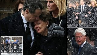 Governor Andrew Cuomo gives moving eulogy  father Mario