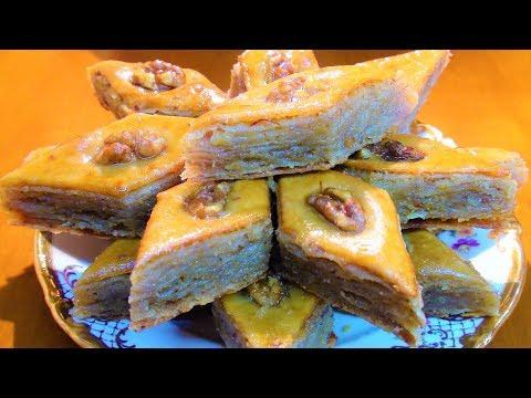 Восточная сладость пахлава рецепт