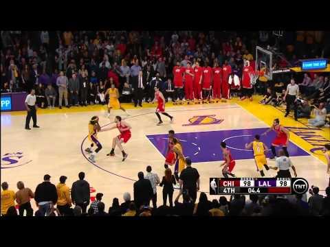 Chicago Bulls vs Los Angeles Lakers | January 29, 2015 | NBA 2014-15 Season