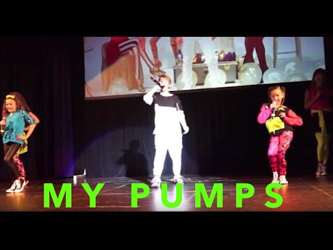 MattyB and the Haschak Sisters - My Humps (Live in Boston)