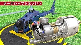 ヘリコプターのエンジンを理解する | ターボシャフトエンジン