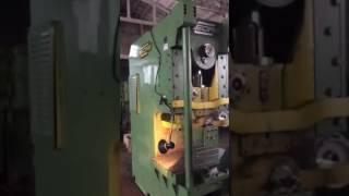 Eccentric press GEORG PEE 100 - testing under power