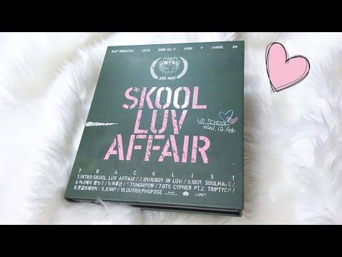 Unboxing BTS (방탄소년단) 2nd Mini Album - Skool Luv Affair
