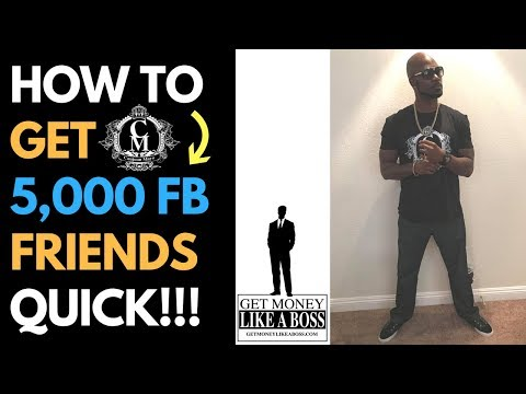 How To Get 5,000 Targeted FB Friends Using This Script - LIVE CASE STUDY - Royaltie Elite