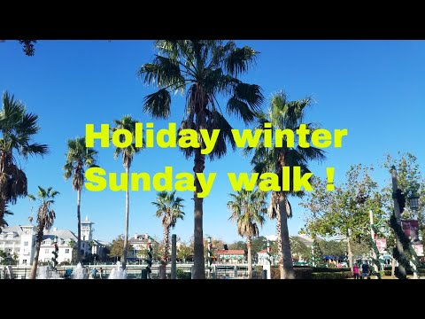 Holiday winter walk ..