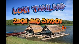 Loei floating raft - Thailand - Esan - Thai holiday - Family Morgz