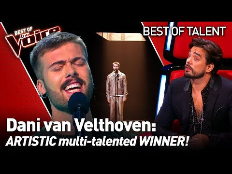Flamboyant talent sang Hallelujah in ARABIC during his Blind Audition on The Voice