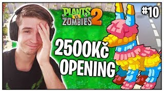 OPENING 2000 SEEDŮ! (Plants vs Zombies 2) #10