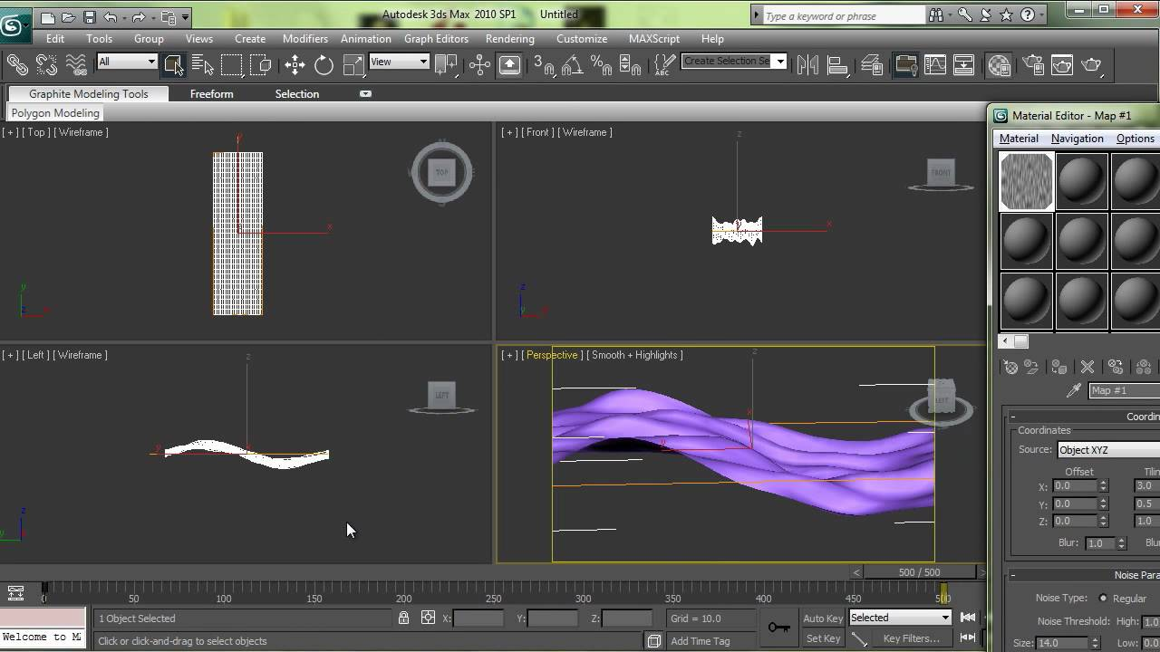 Ps3 xmb background wave 3d studio max tutorial youtube for 3d max tutorial