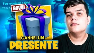 I WON a GIFT FROM a FRIEND AT FORTNITE * Mitei with the skin * ‹ JUAUM ›