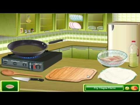 เกมส์ทําอาหาร Saras Cooking Class Fish Tacos