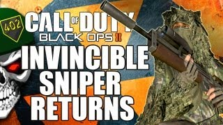 The Invincible Sniper Returns (BO2 Multiplayer)