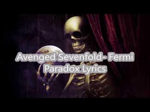 Avenged Sevenfold - Fermi Paradox Lyrics
