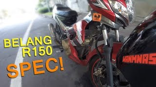 Suzuki Belang R150 Spec!