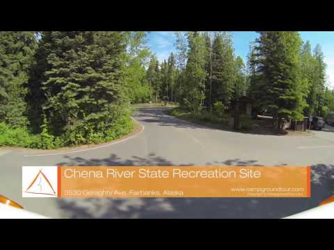 Chena River State Recreation Site, Fairbanks, Alaska