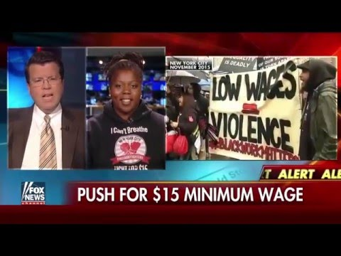 Top Progressive Economist discussing $15hr min wage in CA