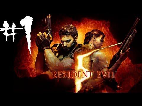Resident Evil 5 - Gameplay (Sub.Español) Parte 1 [HD]