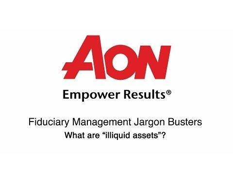 What are illiquid assets?
