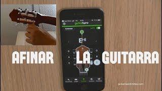 Cómo afinar la guitarra con el móvil o celular screenshot 2
