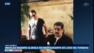 Nicolás Maduro almoça em restaurantes de luxo na Turquia