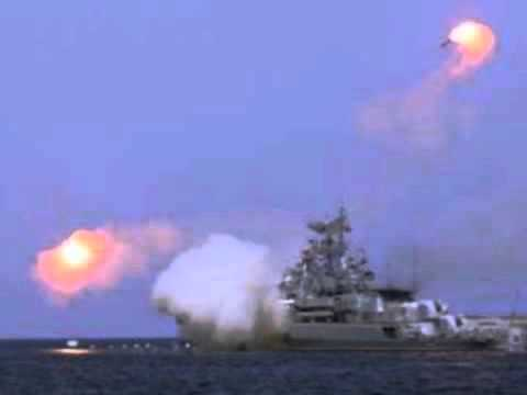 "Russia ""Says"" They Launched 26 Cruise Missiles from Caspian Sea, Oct. 8, 2015"