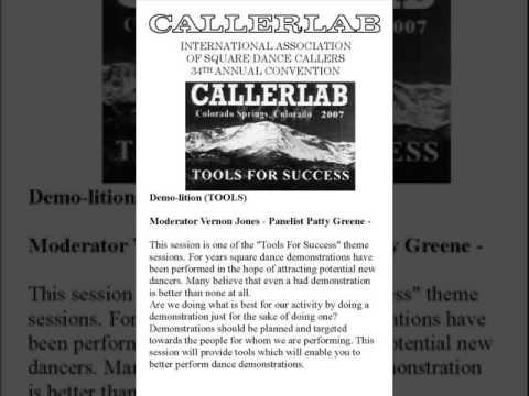 2007 CALLERLAB Conv Recruiting Demolitions