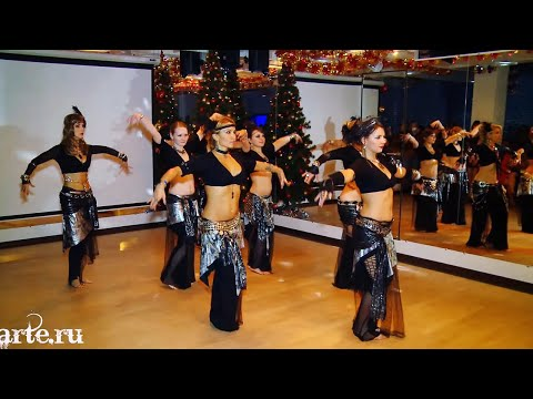Танец Трайбл Фьюжн (Tribal Fusion) - школа танцев МАРТЭ 2013