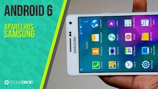 Aparelhos que vão receber o Android 6.0 Marshmallow: SAMSUNG
