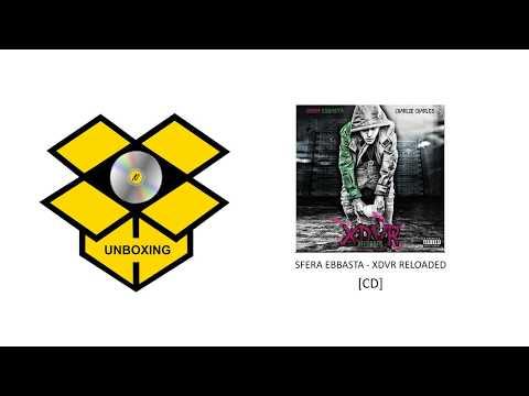 SFERA EBBASTA - XDVR RELOADED [CD] - UNBOXING 4K