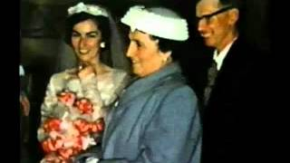 Aunt Kathleen and Uncle Bud's wedding, April 11, 1958