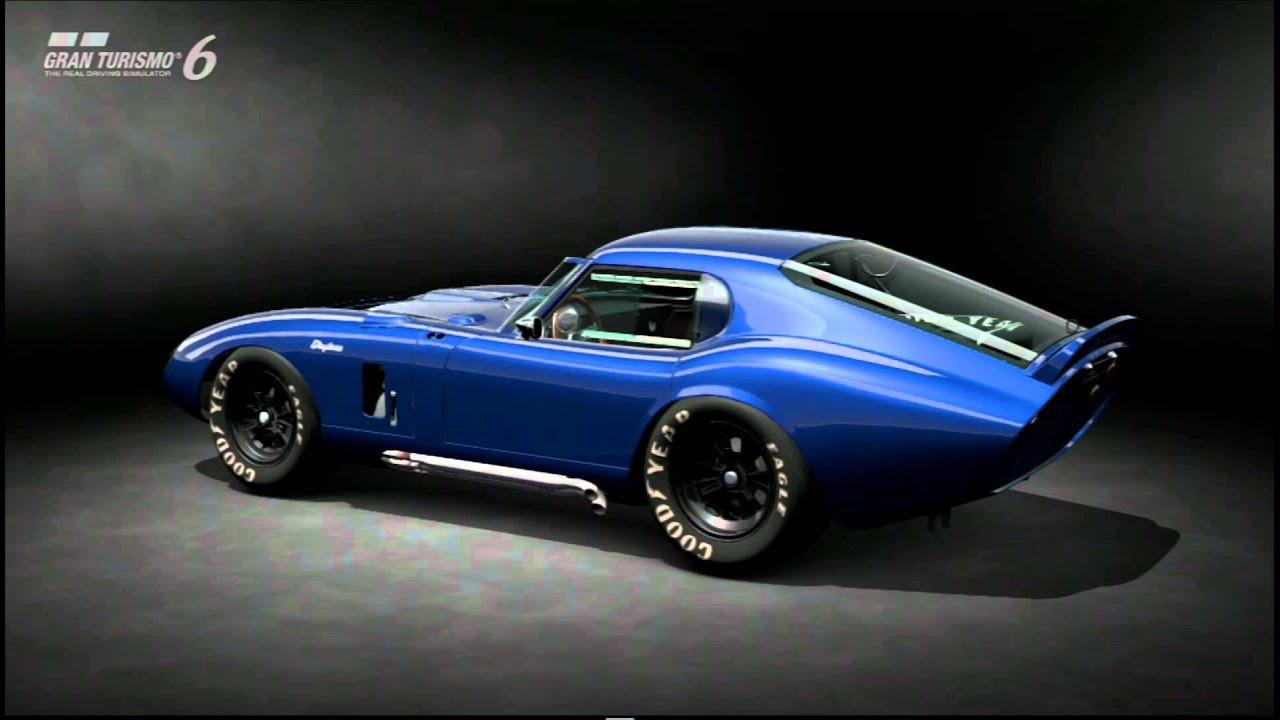 Gt6 shelby cobra daytona coupe 15th anniversary edition ano 1964 video 0030